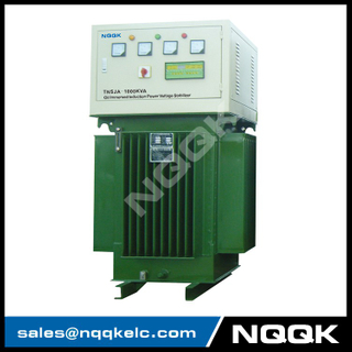 TNSJA 700KVA to 1250KVA Oil Immersed Induction Stabilizer 3Phases Series voltage stabilizer regulator