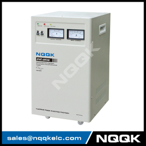 SVC 5KVA Vertical Type Servo Type 1Phase Series Voltage Stabilizer Regulator