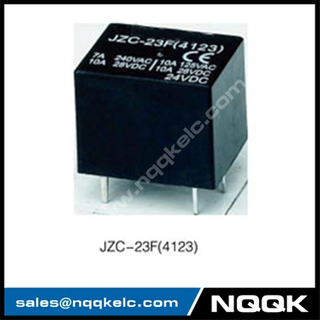 JZC-23F 1A 1B 1C 48VDC PC layout Sliver Alloy PCB relay