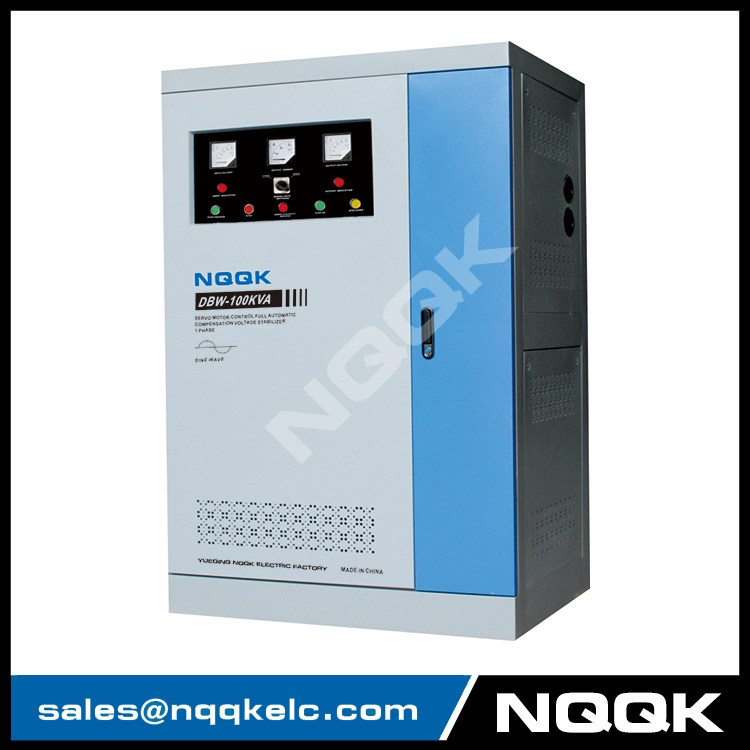 DBW 150KVA / 180KVA / 200KVA Full-Automatic Compensated 1Phase Series voltage stabilizer voltage regulator
