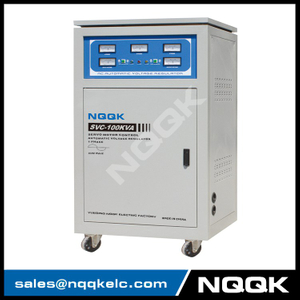 TNS 80KVA / 90KVA / 100KVA Servo Type 3Phase Series (new) Voltage Regulator Voltage Stabilizer