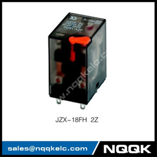 JZX-18FH LED test button General Purpose Relay with 2Z 4Z contact forms