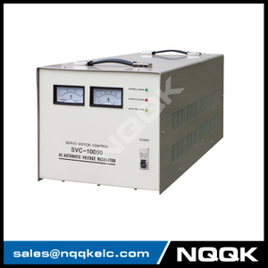 SVC 7.5KVA / 10KVA (Desk Type No.2) Servo Type 1Phase Series Voltage Stabilizer Regulator