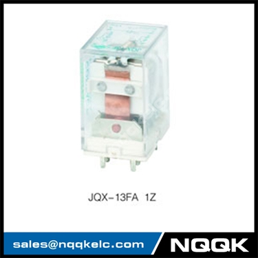 JQX-13F 16A 1Z 10A 2Z SPST SPDT PC layout 380VAC PCB Relay