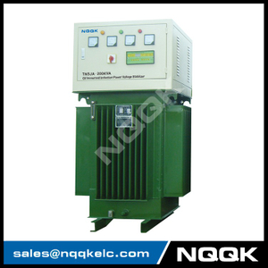 TNSJA 120KVA to 250KVA Oil Immersed Induction Stabilizer 3Phases Series voltage stabilizer regulator