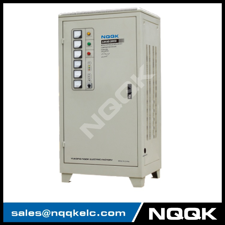 SJW-WB 250KVA / 300KVA / 320KVA / 350KVA Micro-controlled Non-contact Compensation 3Phase Series voltage regulator stabilizer