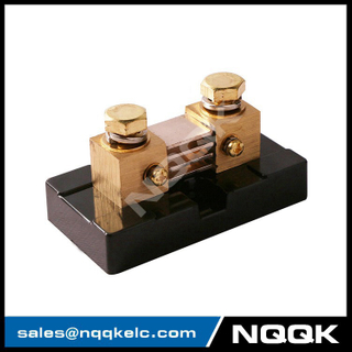 NK999 500A 100A DC 50mv 75mv current Manganin shunt resistor with base