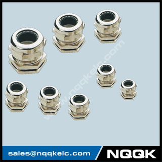 IP67 Nickel plated brass cable gland