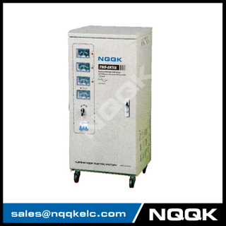 TNS 6KVA Servo Type 3Phase Series Voltage Regulator Voltage Stabilizer