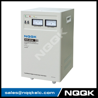 SVC 7.5KVA / 10KVA (Vertical Type) Servo Type 1Phase Series Voltage Stabilizer Regulator