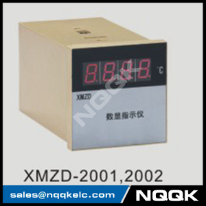 XMZD-2001 thermocouple RTD voltage resistance current silicon time adjusting Industrial digital Temperature Controller