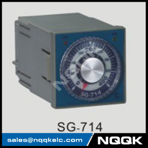 SG-714 72mm K J PT100 sensor adjustion Digital Industrial Temperature Controller for plastic rubber packing machinery