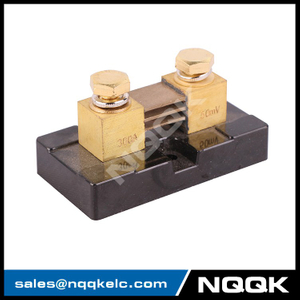 China high quality US type 300A 50mV DC shunt resistor with base