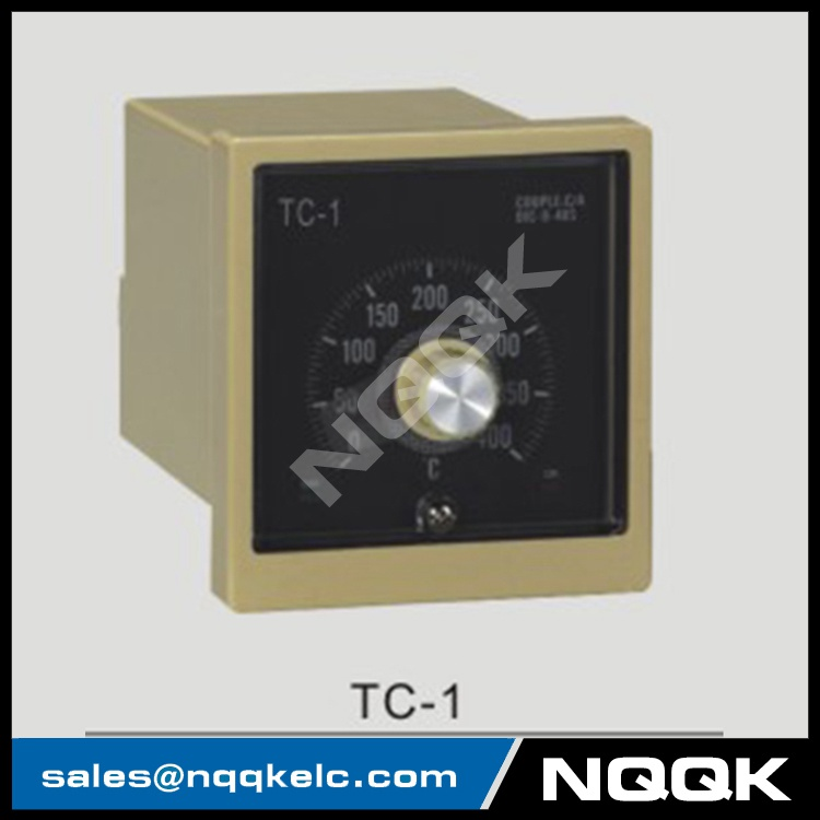 TC-1 96mm K J relay SSR Industrial pointer Rotation adjustment Temperature Controller for plastic rubber