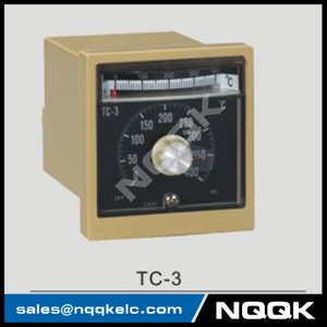 TC-3 96mm K J relay SSR Industrial pointer Rotation adjustment Temperature Controller for plastic rubber