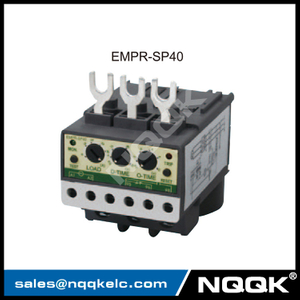 EMPR-SP40 40A 3 integral current transformers electronic overload relay with Din-rail / Panel