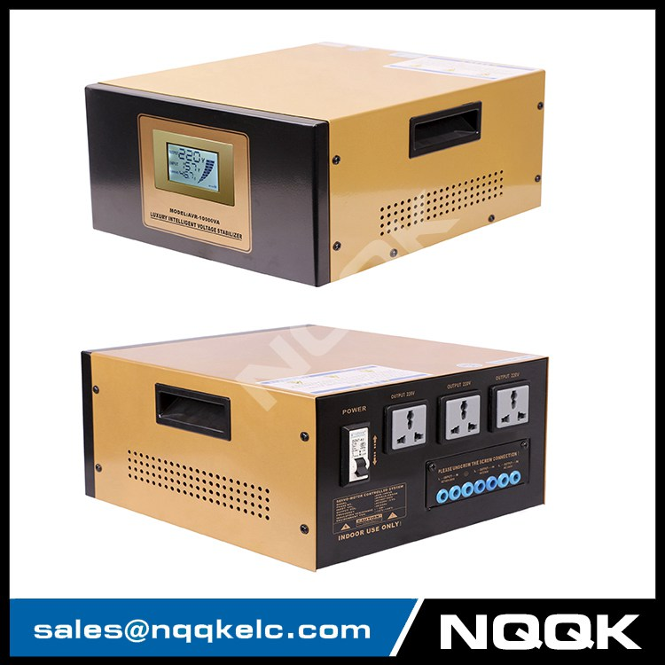 AVR 10KVA 10000va Servo Type 1 Phase Series Voltage Regulator Voltage Stabilizer