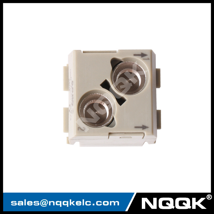HMX-002-M F 100A 1000V 8kV Module Plugin insert heavy duty connector
