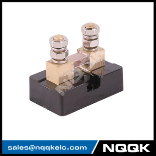 USA type 100A 50mV DC current Manganin shunt resistor with base
