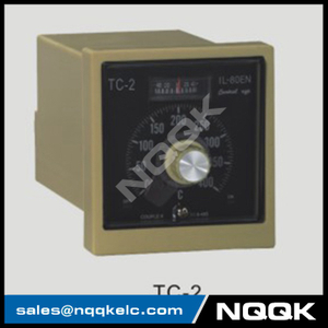 TC-2 96mm K J relay SSR Industrial pointer Rotation adjustment Temperature Controller for plastic rubber