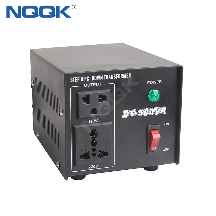 500W Power Voltage Converter DT-500 , Voltage Transformer , Step Up And Down Transformer
