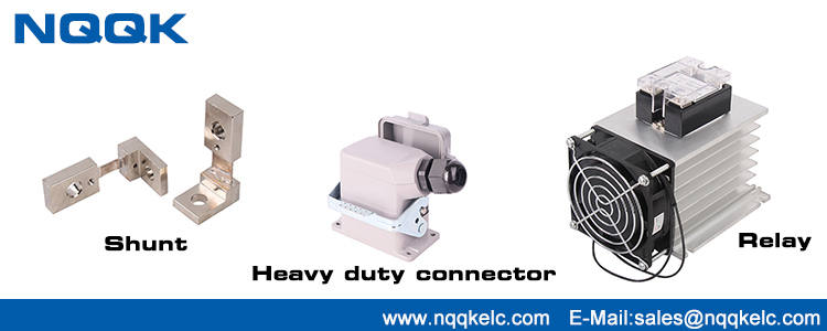 Nqqk hot sell product: shunt resister & Heavy duty industrial plug & solid state relay