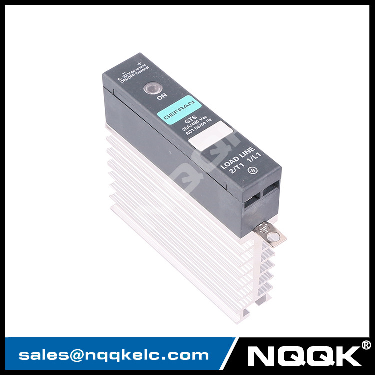 GTS-25/48-D-0 F000121 25A 480V Single phase solid state reply with heat sink